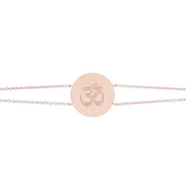 Engraved OM Bracelet